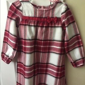 Gymborees girls cold weather dress